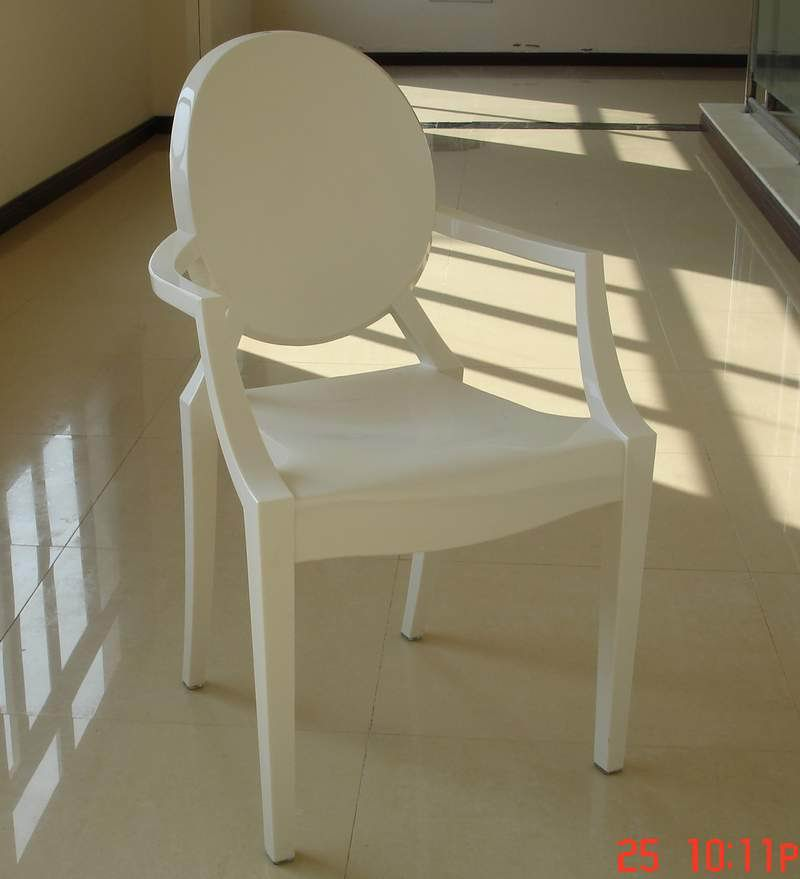 Amazing Products Name: White Louis Ghost Chair