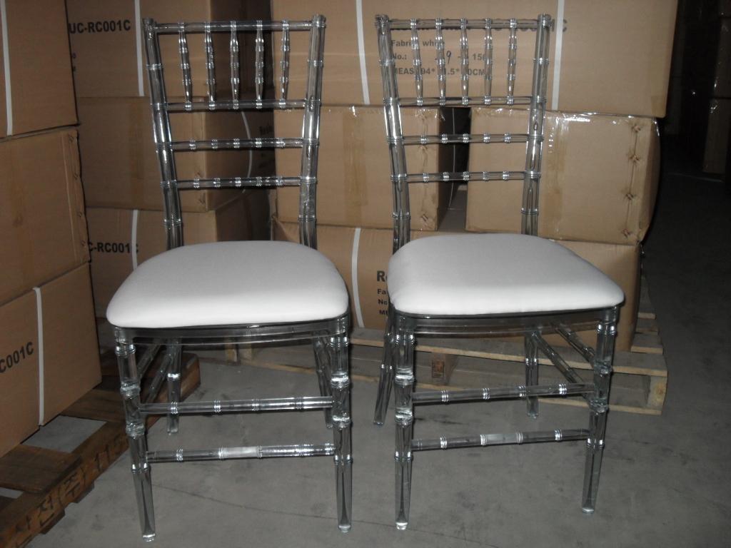 Clear Chiavari Chair -